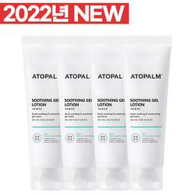 ATOPALMSoothing Gel Lotion 120ml x 4pcs + Gift 20ml x 5 Baby Lotion