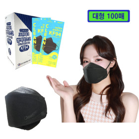 FDA-approved KF94  Korean materials individually packed 100 large-scale fine dust masks Safe