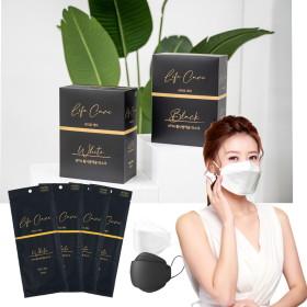 막퍼 국산 KF94 블랙 마스크 50매 대형 개별포장
