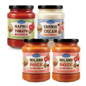 파스타소스 로제1+토마토1+알리오1+머쉬룸1+면500g