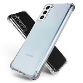 갤럭시 S21플러스 핸드폰 투명 젤리 범퍼 케이스 1+1