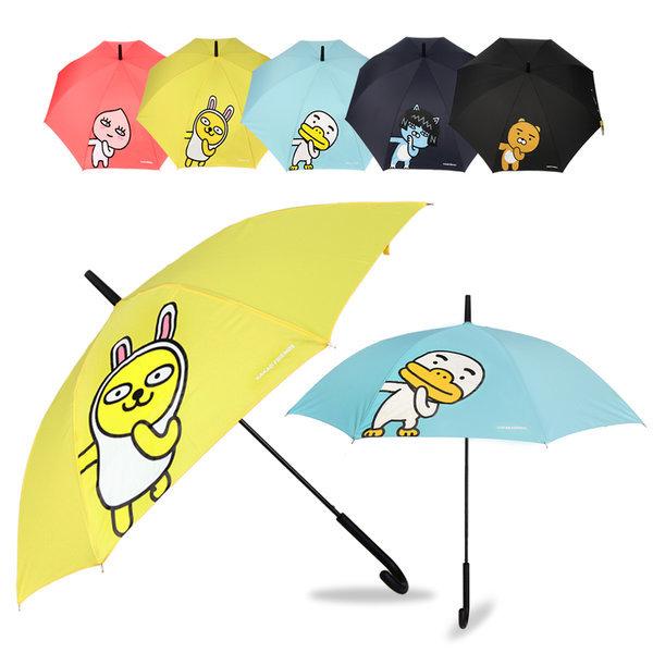 카카오프렌즈 헬로 장우산 자동우산 장마 대비 긴우산 상품이미지