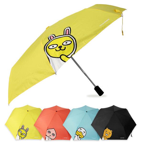 카카오프렌즈 헬로 3단 완전자동우산 패션 캐릭터우산 상품이미지