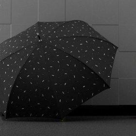 블랙패턴 자동 튼튼한 골프 차량용 클래식 장우산