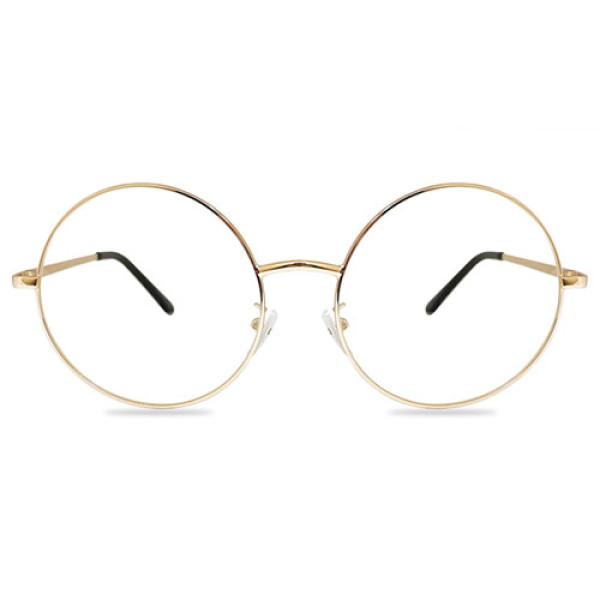 안경 싸다 동글이 메탈안경 (골드) 상품이미지