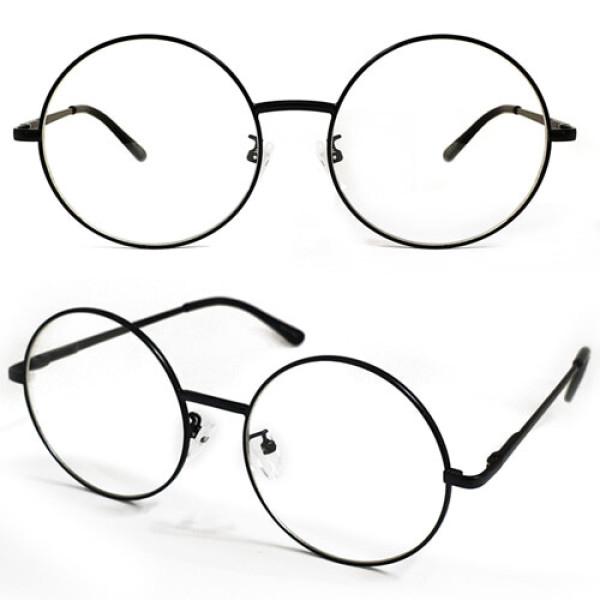 안경 싸다 동글이 메탈안경 (블랙) 상품이미지