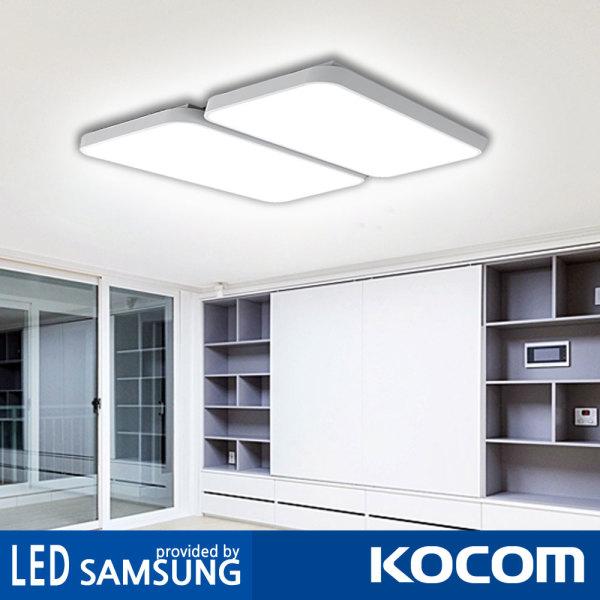 코콤 시스템 플러스 거실등 120W 2등 일체형 led등 상품이미지