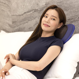 SD 쿠션플러스 온열 목 어깨 안마기 마사지기 ZP187