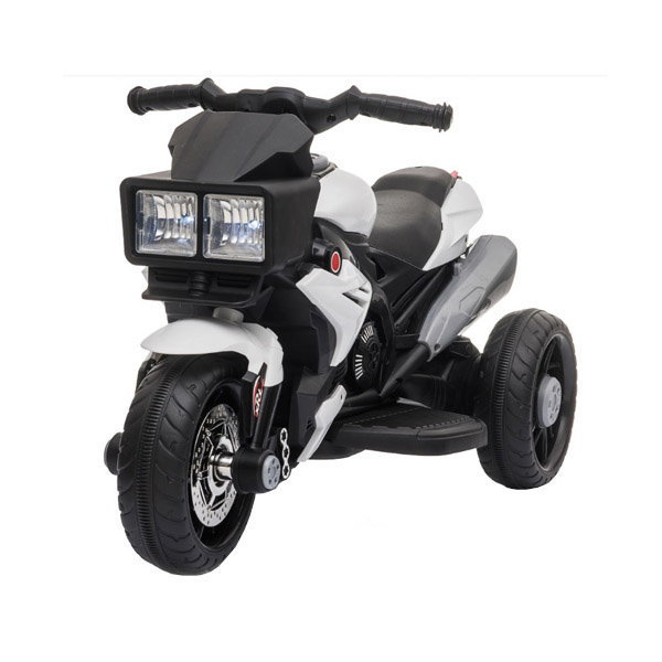 대호토이즈 XRT 유아 전동 오토바이 화이트블랙 상품이미지