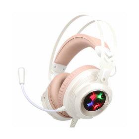 COX CH60 사운드플러스 리얼 7.1 RGB 헤드셋 화이트