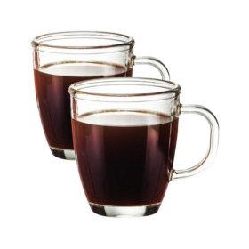 오븐글라스 커피머그세트 내열유리잔 / 360ml 2P