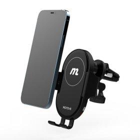 모토앤 15W 차량용 핸드폰 고속  무선 충전 거치대 S1