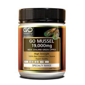 고헬씨 GO MUSSEL 뉴질랜드 초록홍합 19000mg 300캡슐