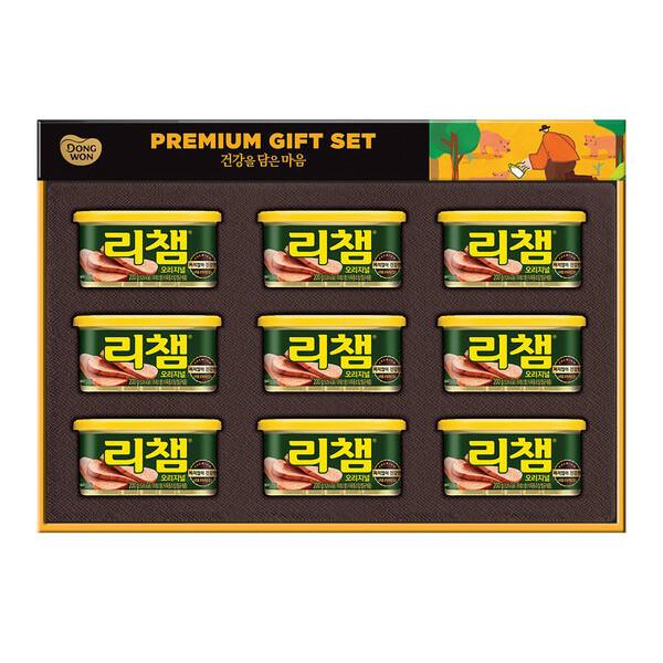 동원 리챔6호 선물세트(200g x 9ea)1set 상품이미지