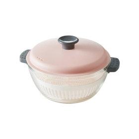 간편요리 유리 캐서롤 1.5L 찜기 전자레인지용기
