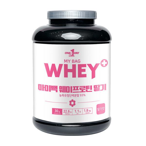 단백질보충제 프로틴 유청 헬스 쉐이크 WPC 딸기 1.8kg 상품이미지