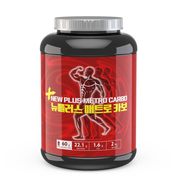 헬스보충제 단백질 프로틴 게이너  뉴플러스카보  2kg 상품이미지