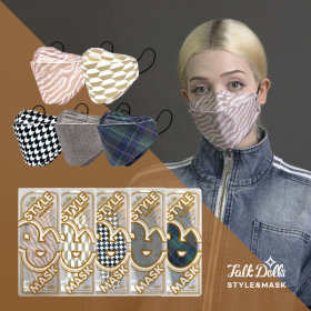 TalkDolls stylemask mask 10ea 4-Layer Breathable Quality 3D Mask