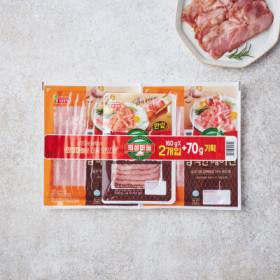 롯데)의성마늘담백한베이컨160G 2+70G
