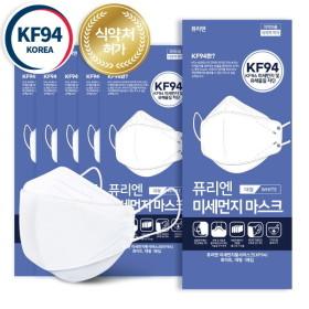 4중필터 국내 퓨리엔 KF94 마스크 대형 화이트 50매
