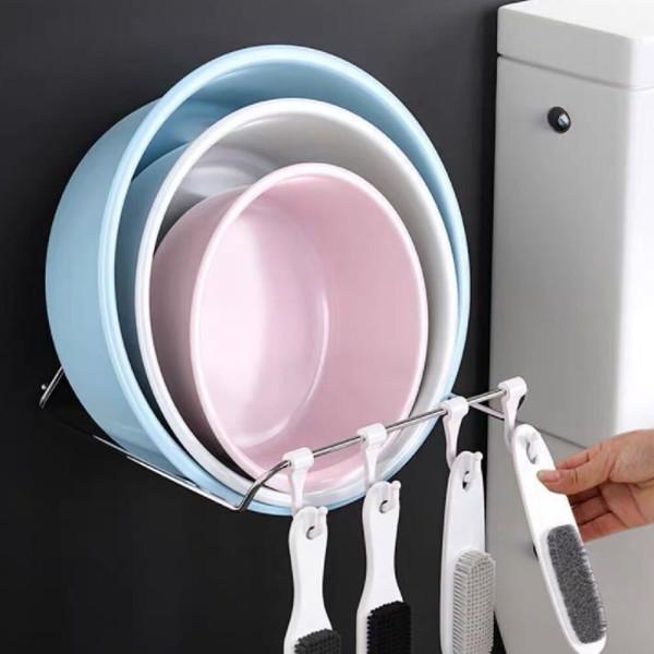 욕실 주방 용품 수건 욕조 대야 세수대야 걸이 홀더 상품이미지