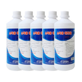 삼현제약 소독용에탄올 500ml 5개/상처/피부/소독