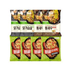 풀무원 볶음밥 세트(탱글소시지+통새우+닭가슴살)