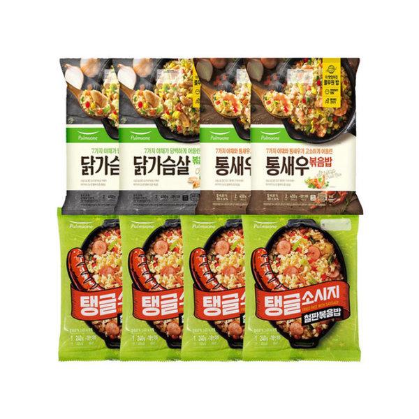 풀무원 볶음밥 세트(탱글소시지+통새우+닭가슴살) 상품이미지