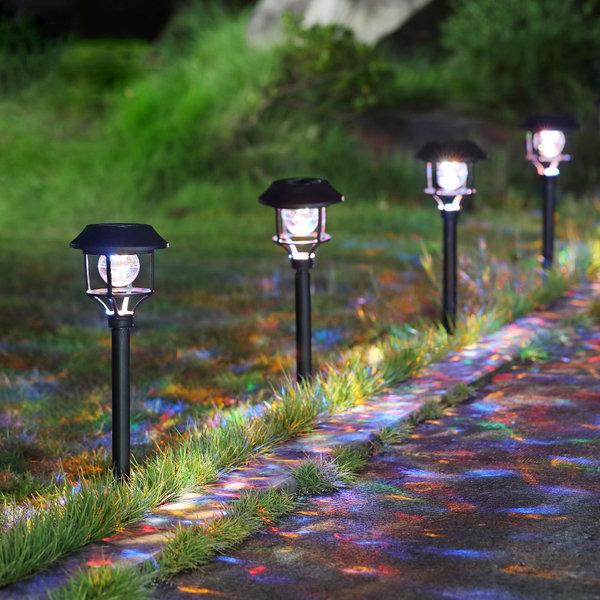 태양광 LED정원등 태양열 야외조명 6색멀티전등 ER965 상품이미지