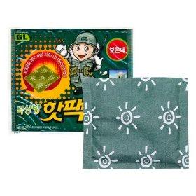 지엘 박상병 핫팩 1개 /군용핫팩 손난로 보온대