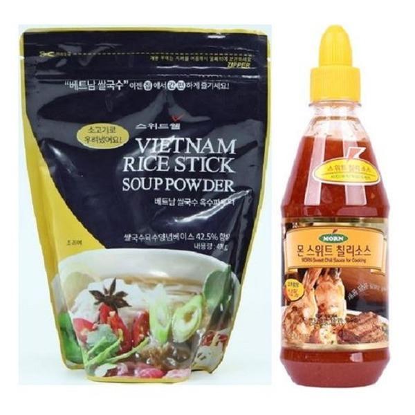 스위트웰 베트남 쌀국수 육수파우다+몬스위트칠리소스 상품이미지