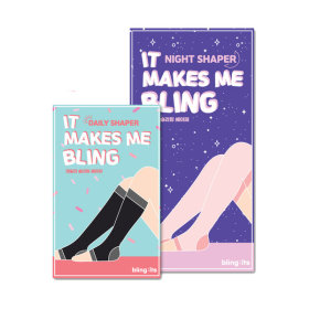 bling:its DAILY SLIMMING SHAPER Compression Stocking All Day Set
