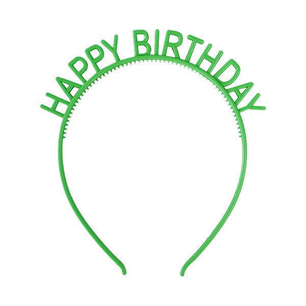 생일 머리띠 그린 해피벌스데이 홈파티 생일 파티용품 상품이미지