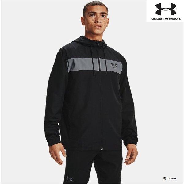 (신세계의정부점)언더아머 1361621 001 남성 바람막이 UA 스포츠스타일 윈드브레이커 자켓 재킷 상품이미지