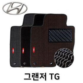(제이큐) 그랜저 카매트 차량용 TG 발매트 바닥 매쉬 발판 매트