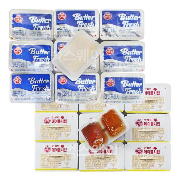 오뚜기 버터후레시 48개+메이플시럽 40개(아이스박스) 상품이미지