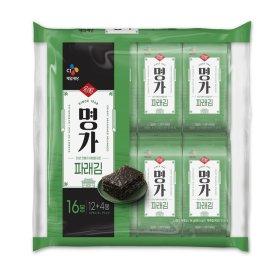 (1+1)CJ_햇바삭명가김_파래김_4Gx16