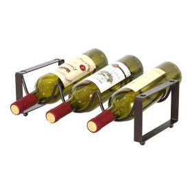 엔틱 물결 와인렉(3열 1단) /와인거치대