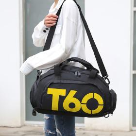 T60 스포츠 더플백(블랙옐로우) /3way 스포츠가방