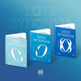 (SET) WONHO 1st Mini Album Part.2 Love Synonym - (2) Right for Us / WONHO Mini Album part.2