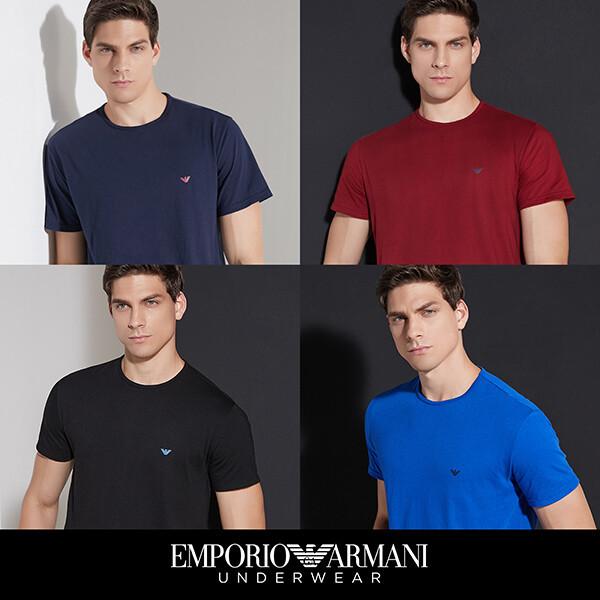 엠포리오 아르마니 코튼 언더셔츠 4종 상품이미지