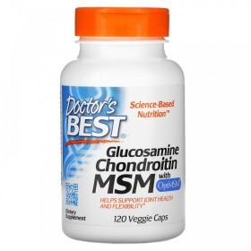 (아이허브) Doctors BEST 글루코사민 콘드로이틴 식이유황 120베지캡슐 빠른직구