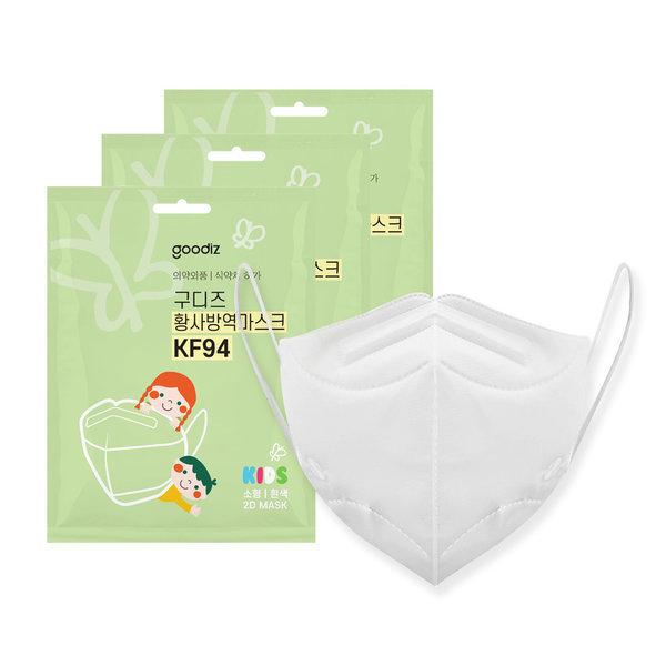 구디즈 KF94 어린이용 마스크 100매(소형) 새부리형 상품이미지