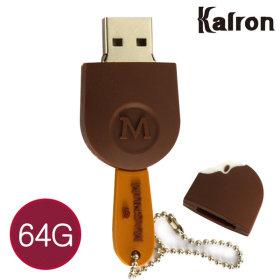 캐릭터 USB메모리 초콜렛 선물 아이스크림 초콜릿 64GB