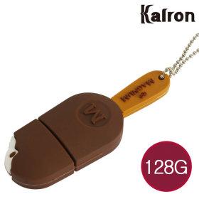 캐릭터 USB메모리 유에스비 아이스크림 초콜릿 128GB
