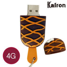 캐릭터 USB메모리 선물 예쁜 아이스크림 카라멜 4GB