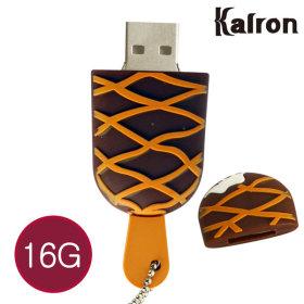 캐릭터 USB메모리 PC 노트북 아이스크림 카라멜 16GB