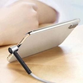 1+1 2개 (2m) 8핀 스탠드 고속충전케이블 아이폰