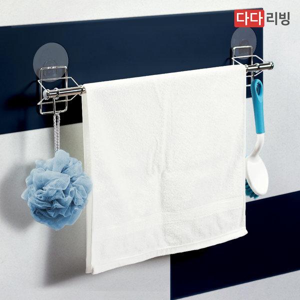 타이탄 매직후크 수건걸이 /욕실 접착식 타올 행거 상품이미지