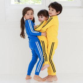 Kids Innerwear Loungewear Pajamas 30NeC Basic 4 Colors